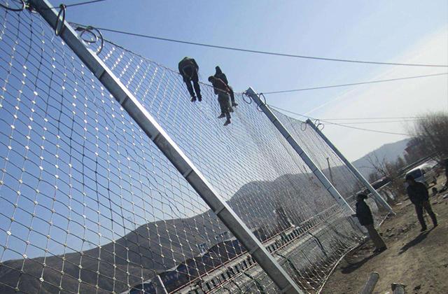 山西被动防护网案例